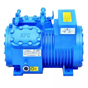 Semi-ermitanyo RECIPROCATING compressor R22 R404A R134A R507A RFC 4Cylinders